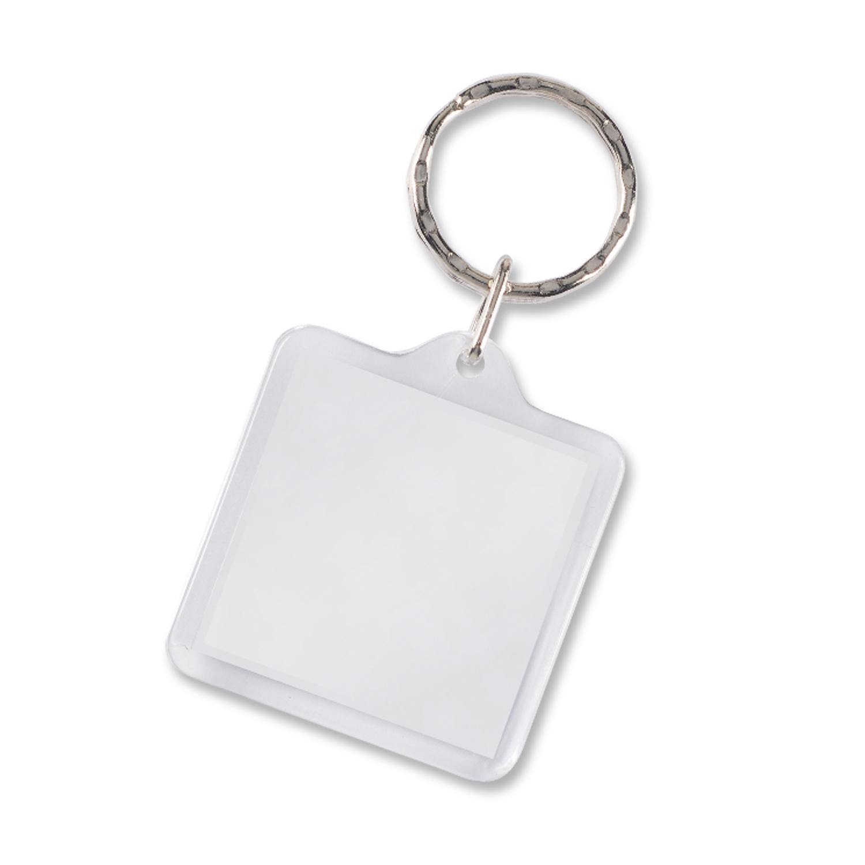 Lens Key Ring - Square