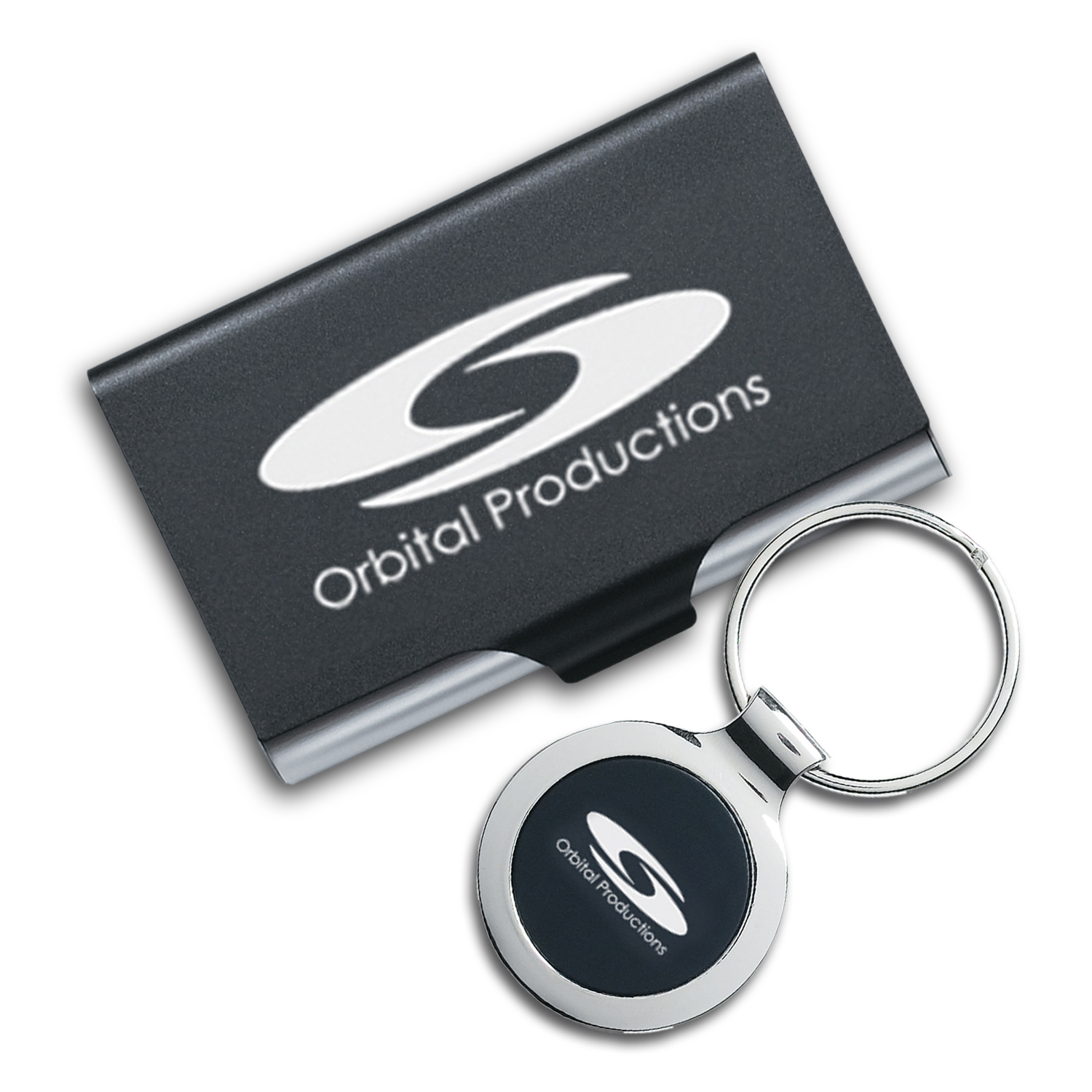 Key Ring and Business Card Holder