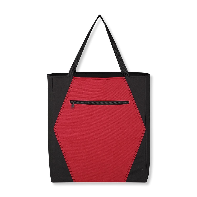 Two Tone Hexagon Tote Bag