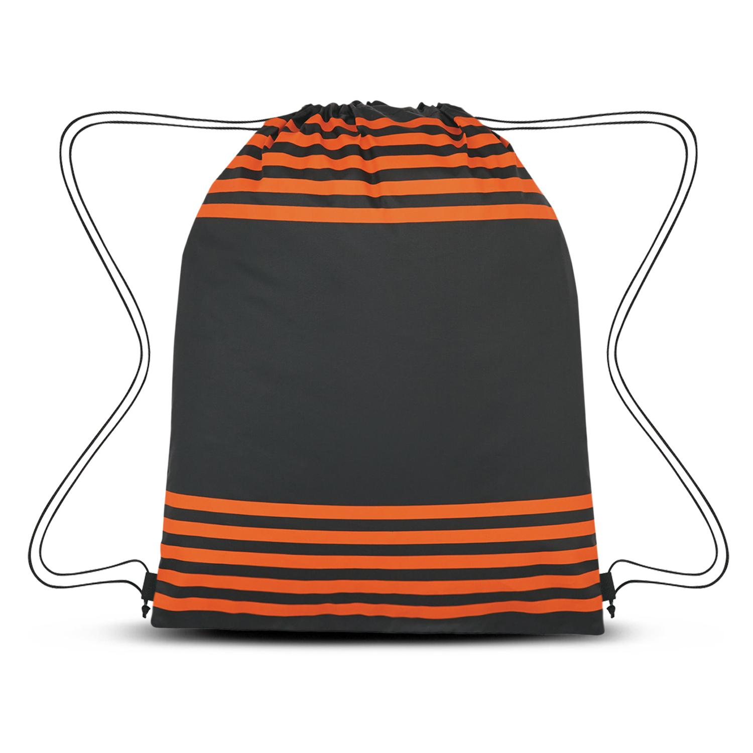 Striped Drawstring Sports Pack