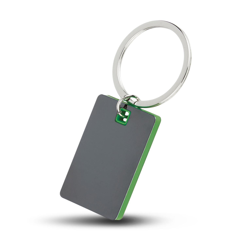 Colour Block Mirrored Key Tag