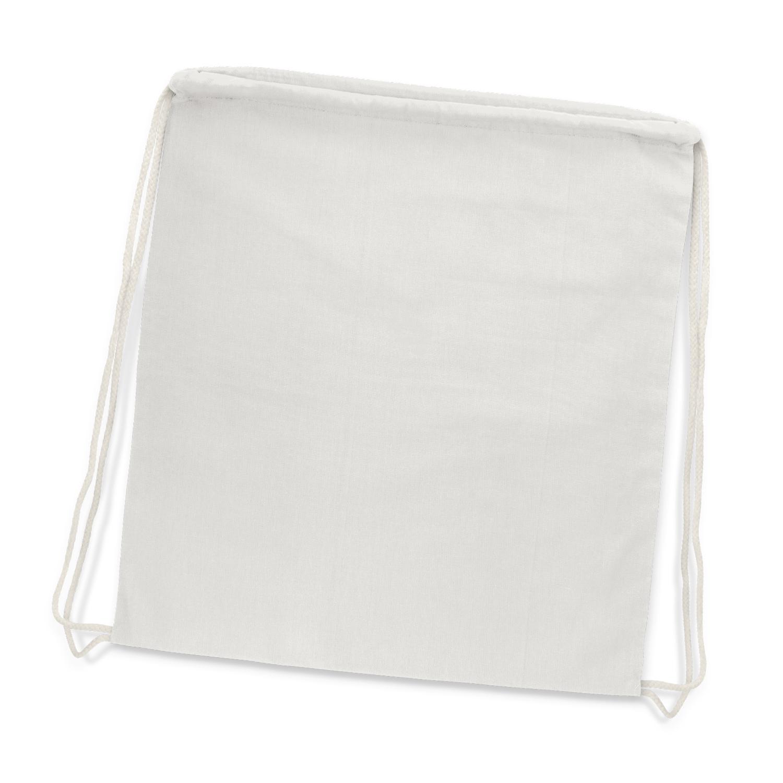 Cotton Drawstring Backpack