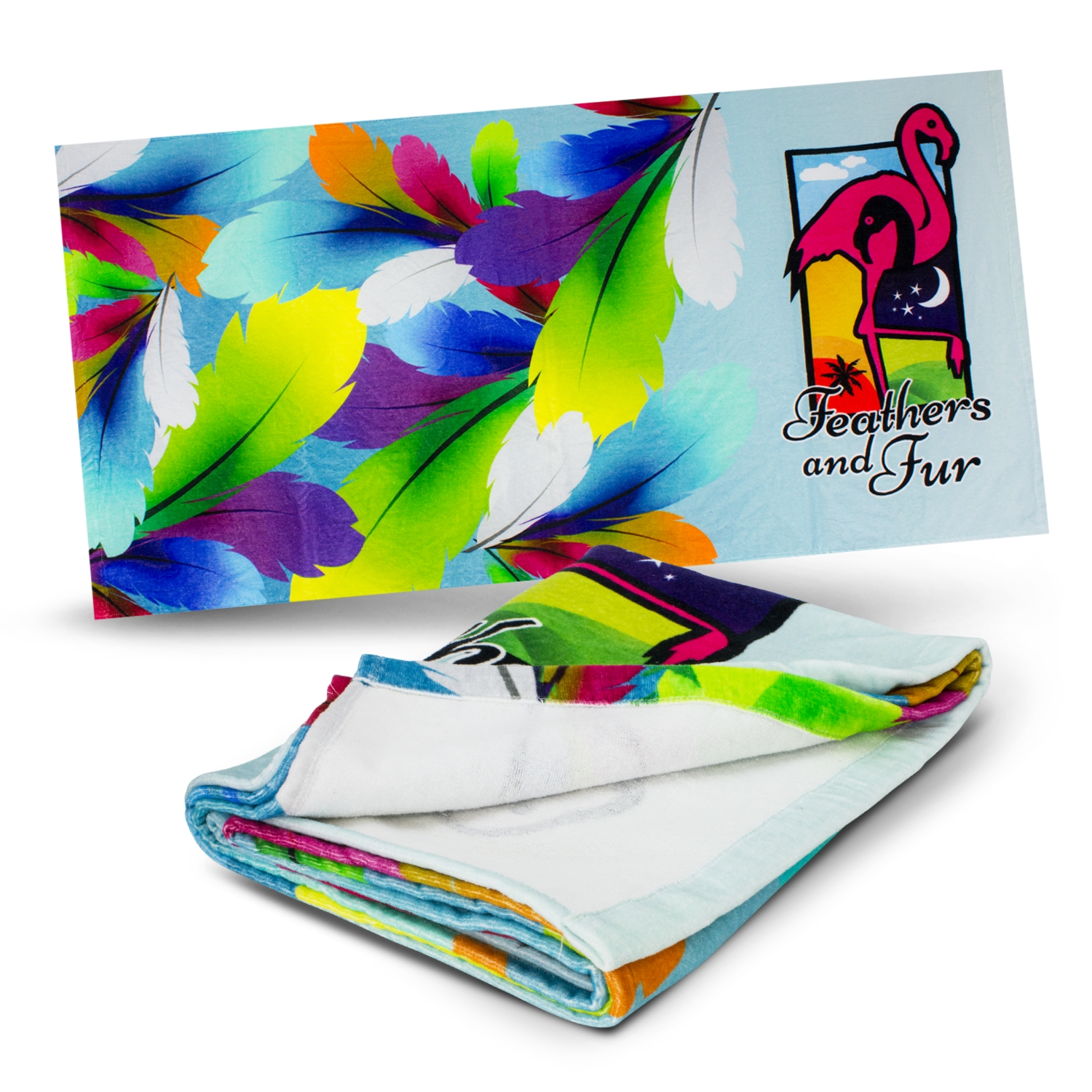 Trends Collection Picasso Beach Towel