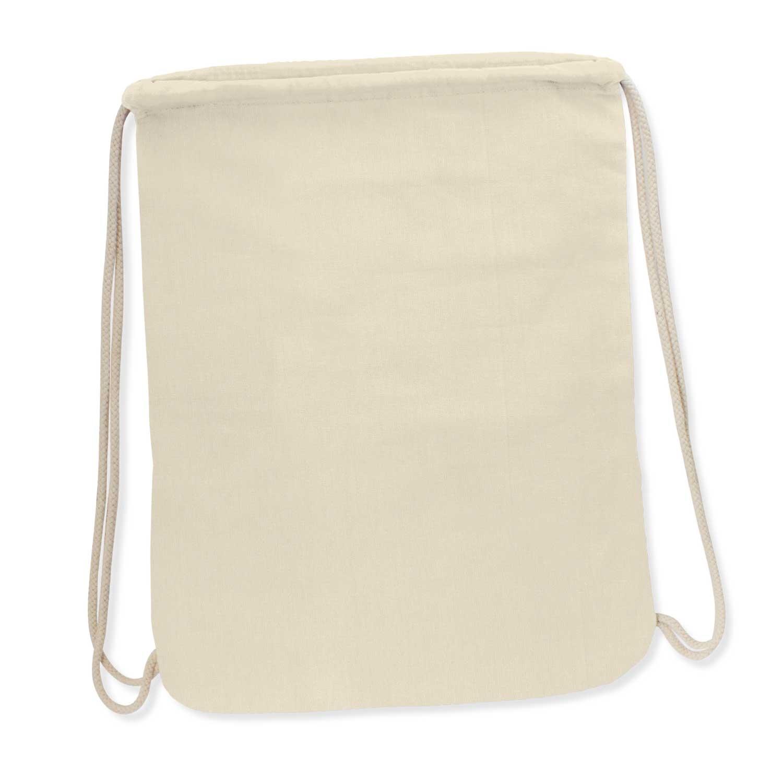 Durban Cotton Drawstring Backpack