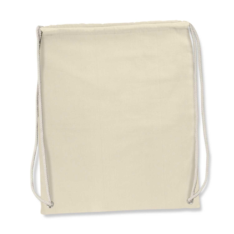 Florida Cotton Drawstring Backpack