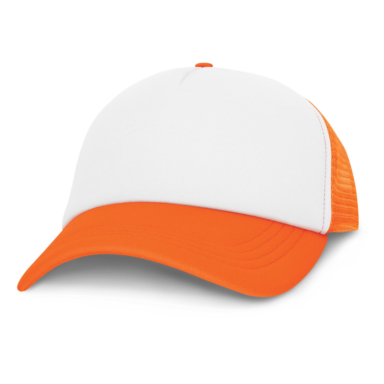 Cruise Premium Mesh Cap - White Front