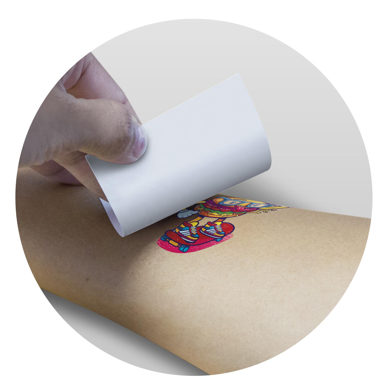 Temporary Tattoo Foil - 51mm x 51mm