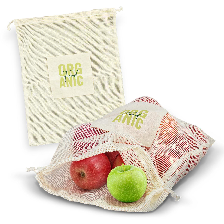 Details about 50 x Cotton Produce Bag Bulk Gifts Promotion Business  Merchandise