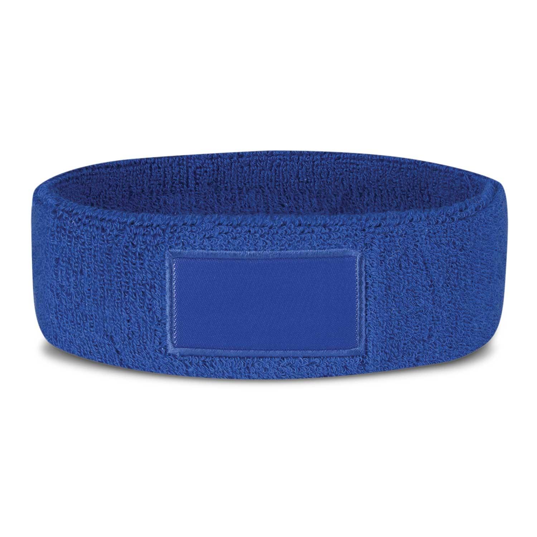 Sweatband With Patch