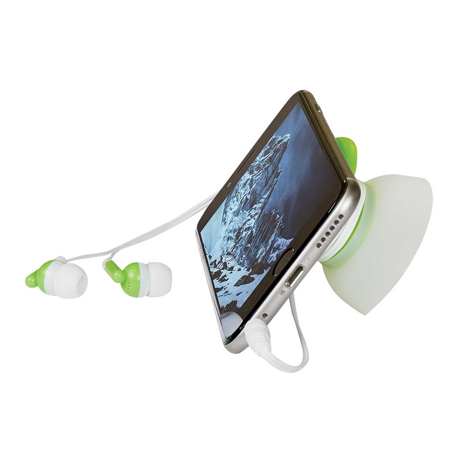 2-In-1 Earbuds With Holder And Phone Stand
