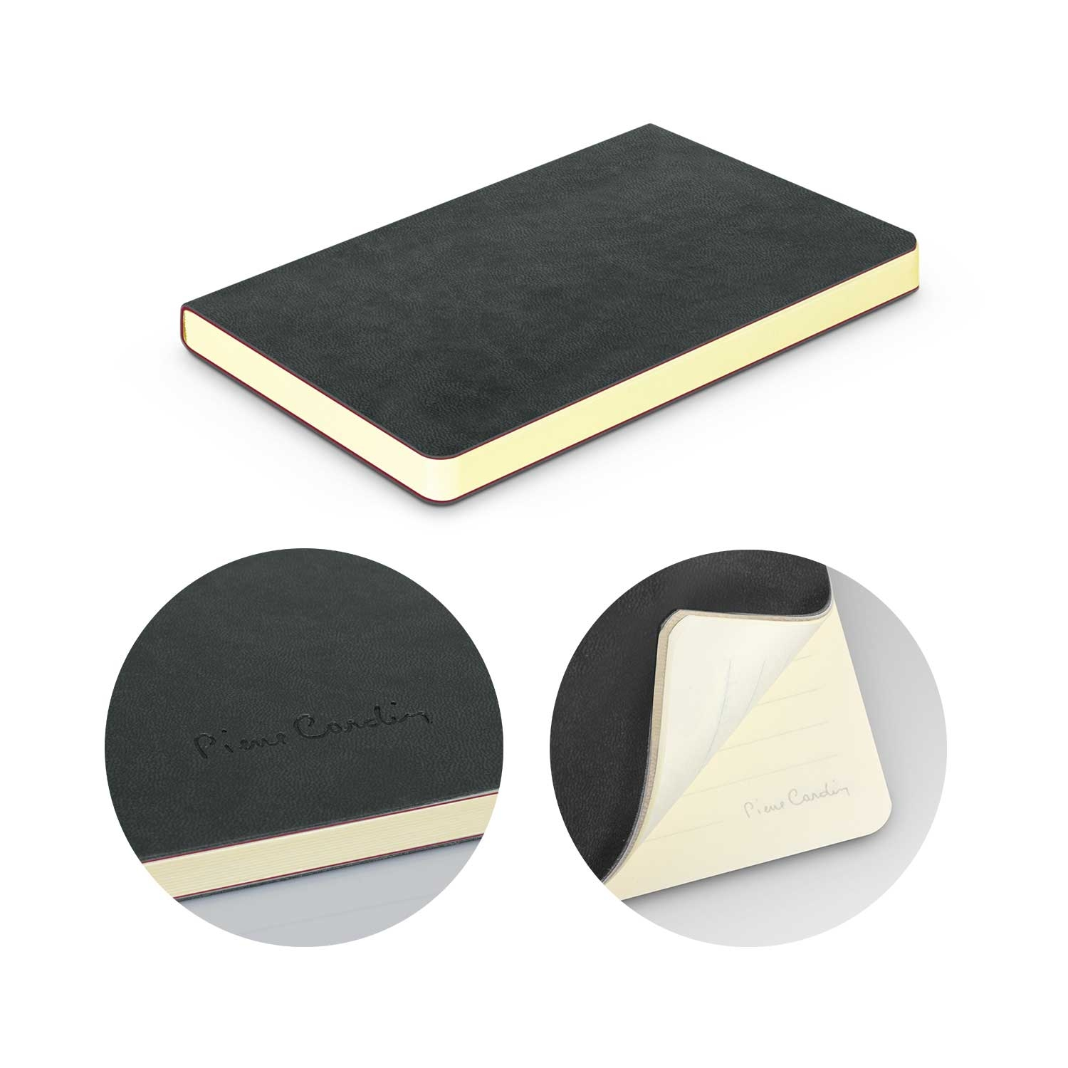 Pierre Cardin Soft Cover Notebook - Small