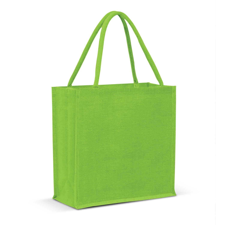 Monza Jute Tote Bag - Colour Match