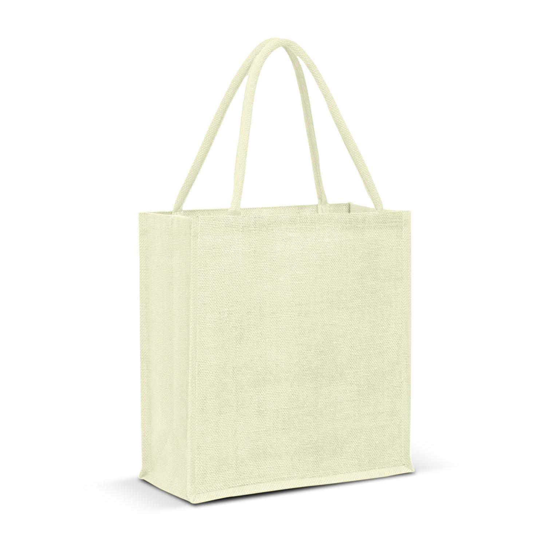 Lanza Jute Tote Bag - Colour Match