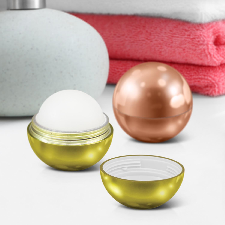 Metallic Lip Balm Ball