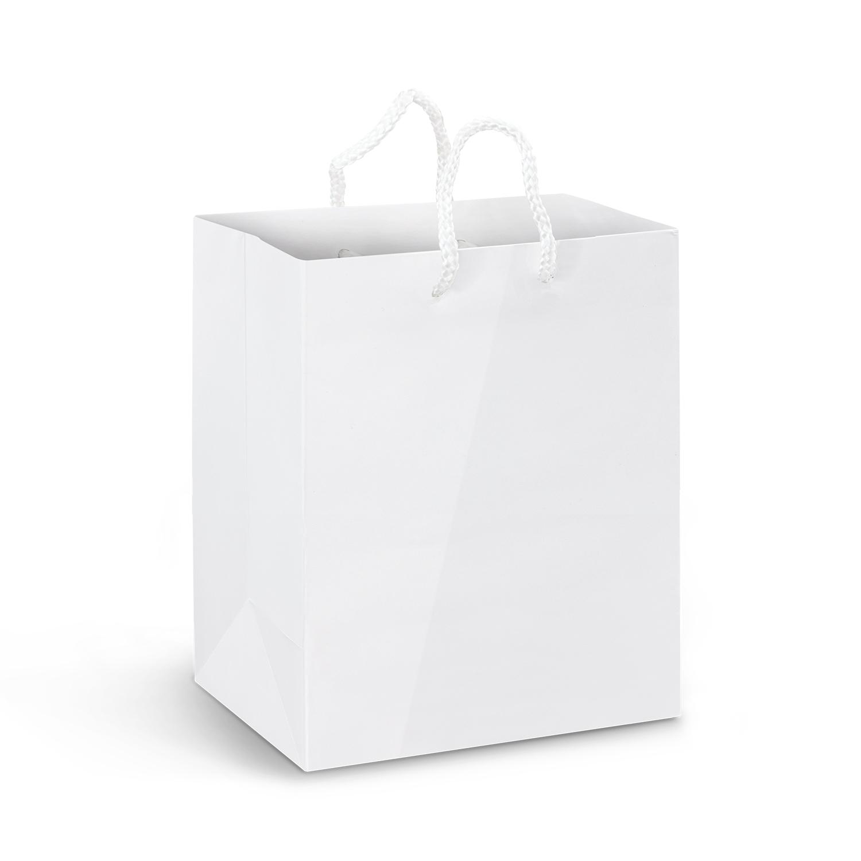 Medium Laminated Paper Carry Bag - Full Colour