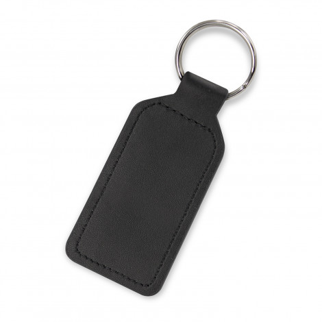 Prince Leather Key Ring  - Rectangle